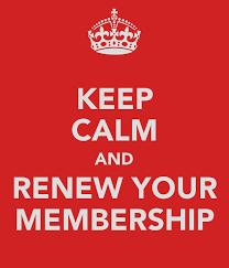 Re renewing membership