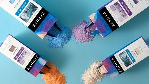 Zephyr Powder Paints
