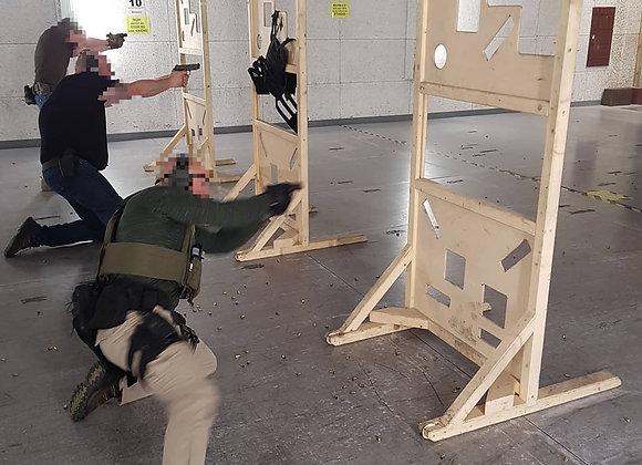 Aufbaukurs Verteidigungsschießen mit Kurzwaffe