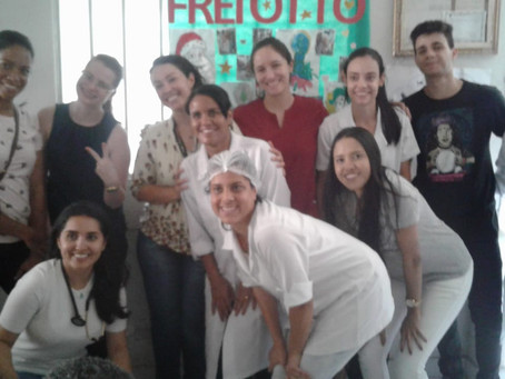 Visita Acadêmicos da Faminas-BH