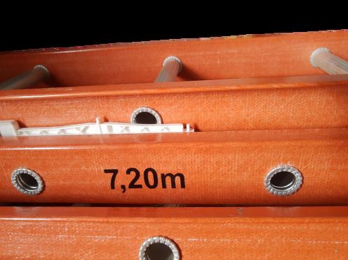 Escada de Fibra de Vidro Extensível 7,20Mts