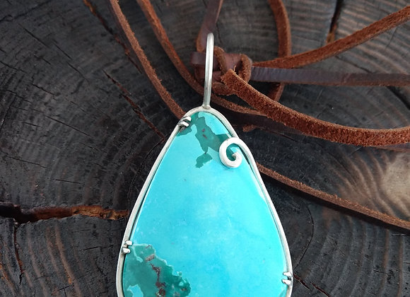 The Just Turquoise Pendant