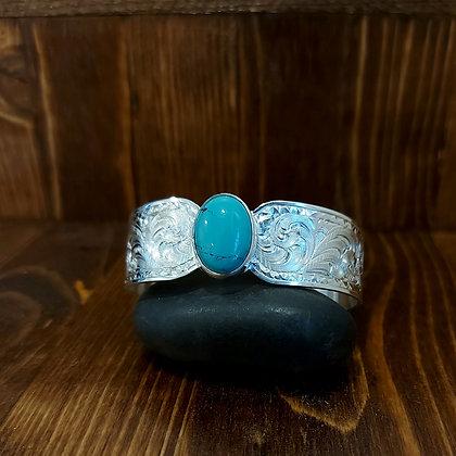 Classy Turquoise cuff