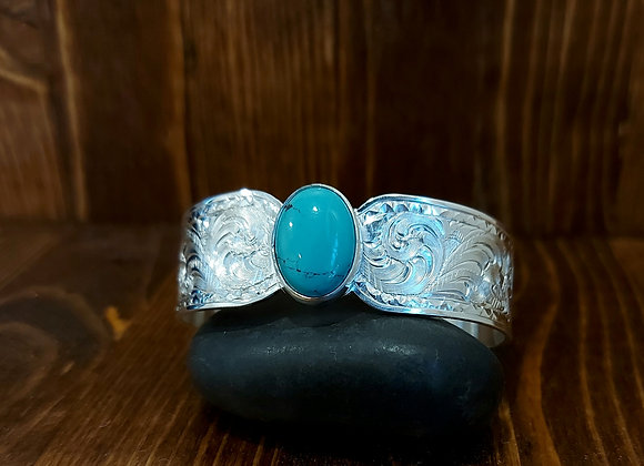 Classy Turquoise cuff
