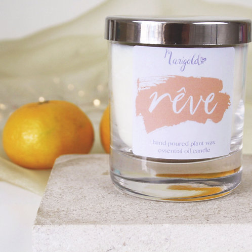 Personalised Reve Scented Candle