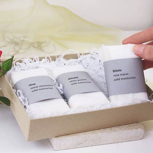 Organic Solid Moisturiser Gift Collection