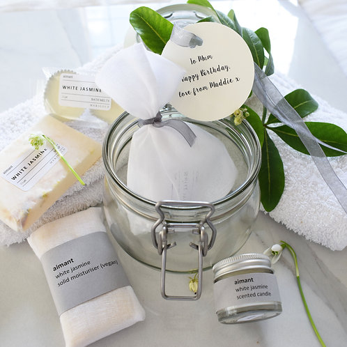 Vegan Spa in a Jar Gift Collection
