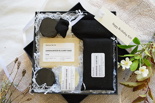Personalised Organic Wellbeing Letterbox Spa Collection