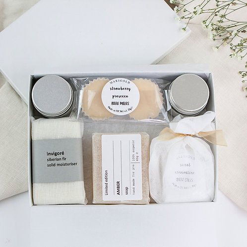Luxury Organic Letterbox Spa Gift Set