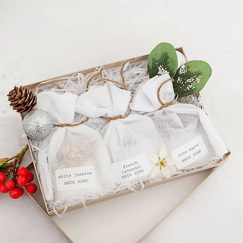 Wellbeing Bath Soak Gift Collection