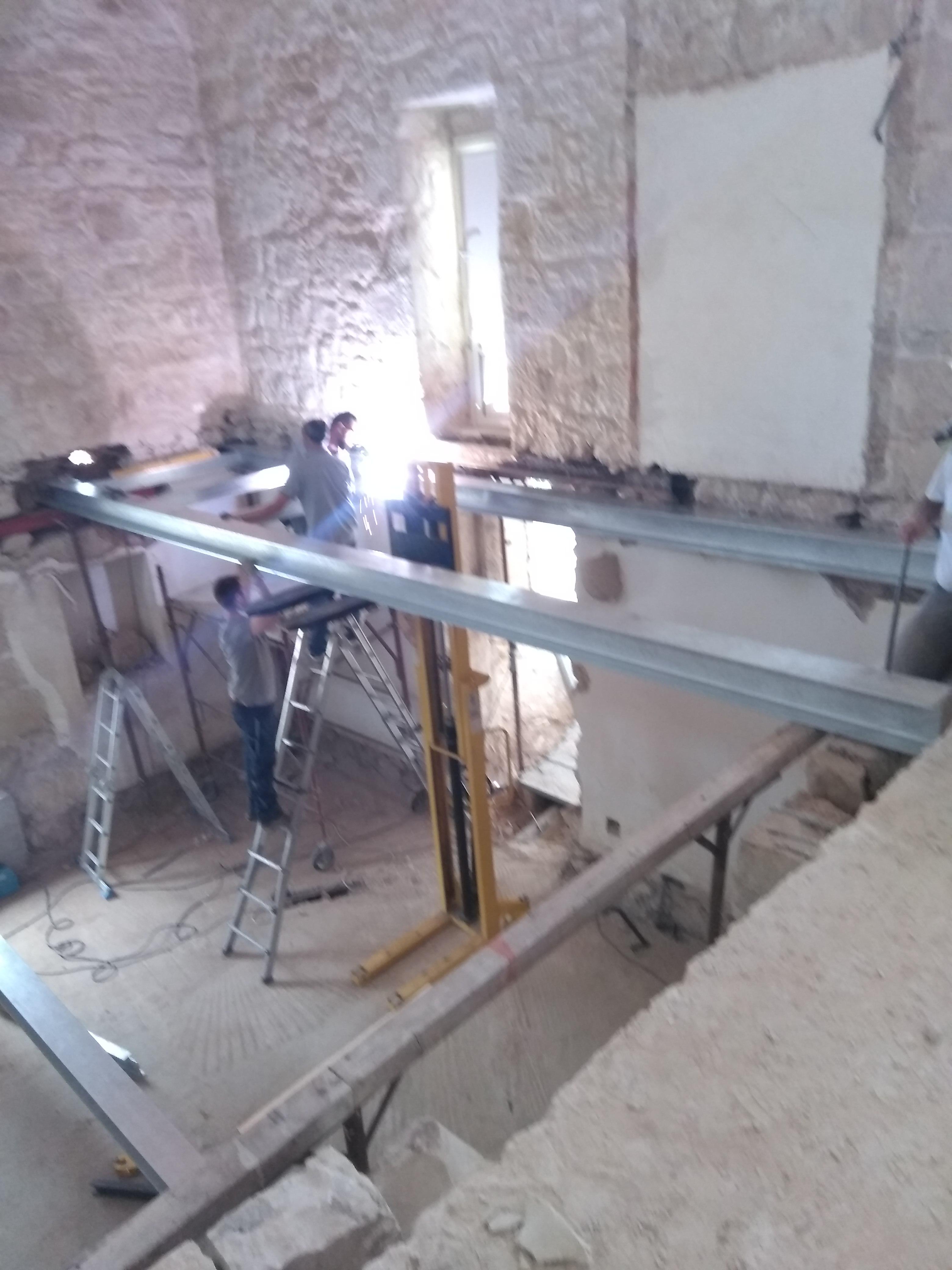 Struttura Di Un Solaio tetti e strutture in ferro | bocchieribuildings