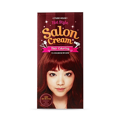 Etude House - Hair cream Cherry red brown / Coloration pour cheveux Rouge brun