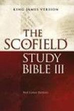 Scolfield Study Bible