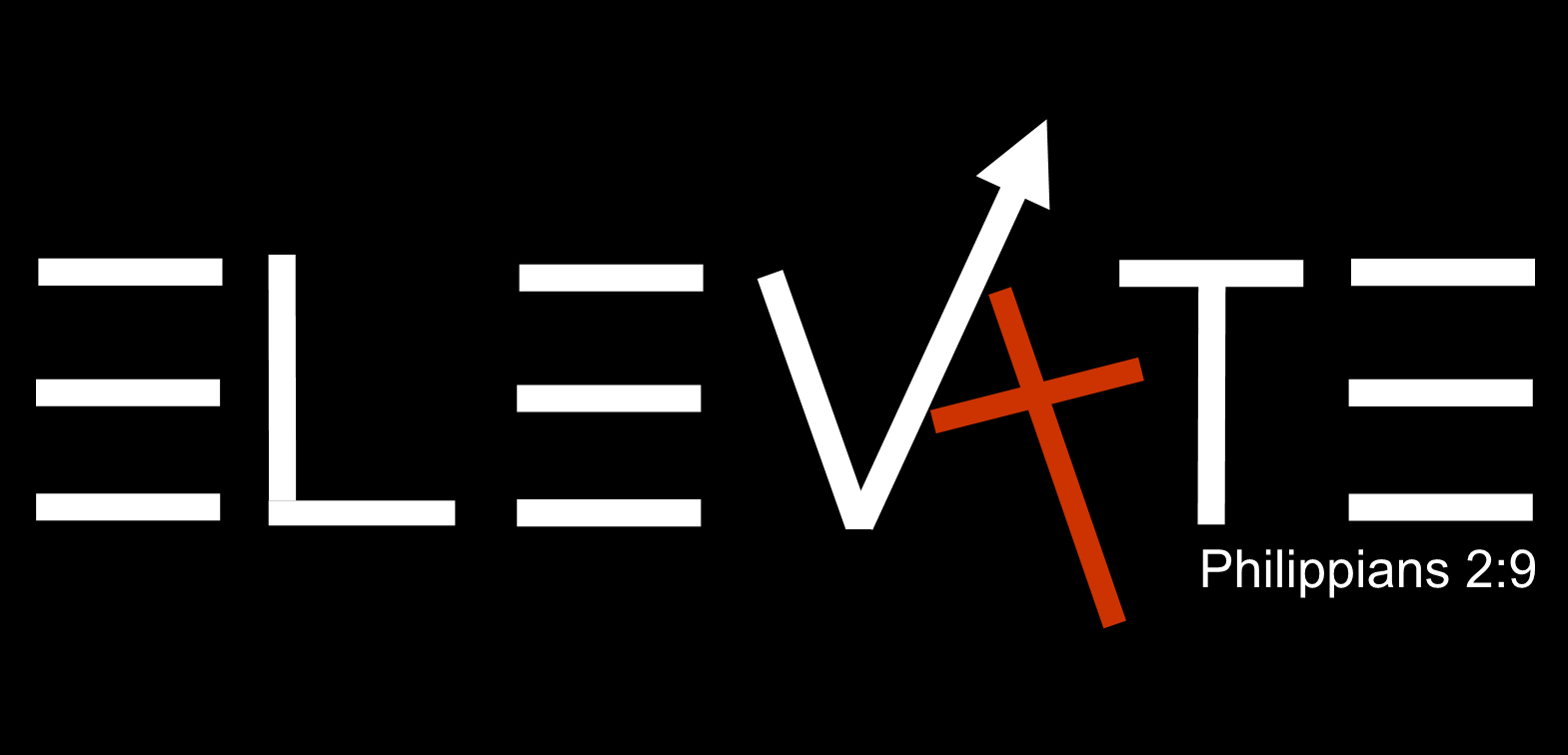 elevate logo with verse