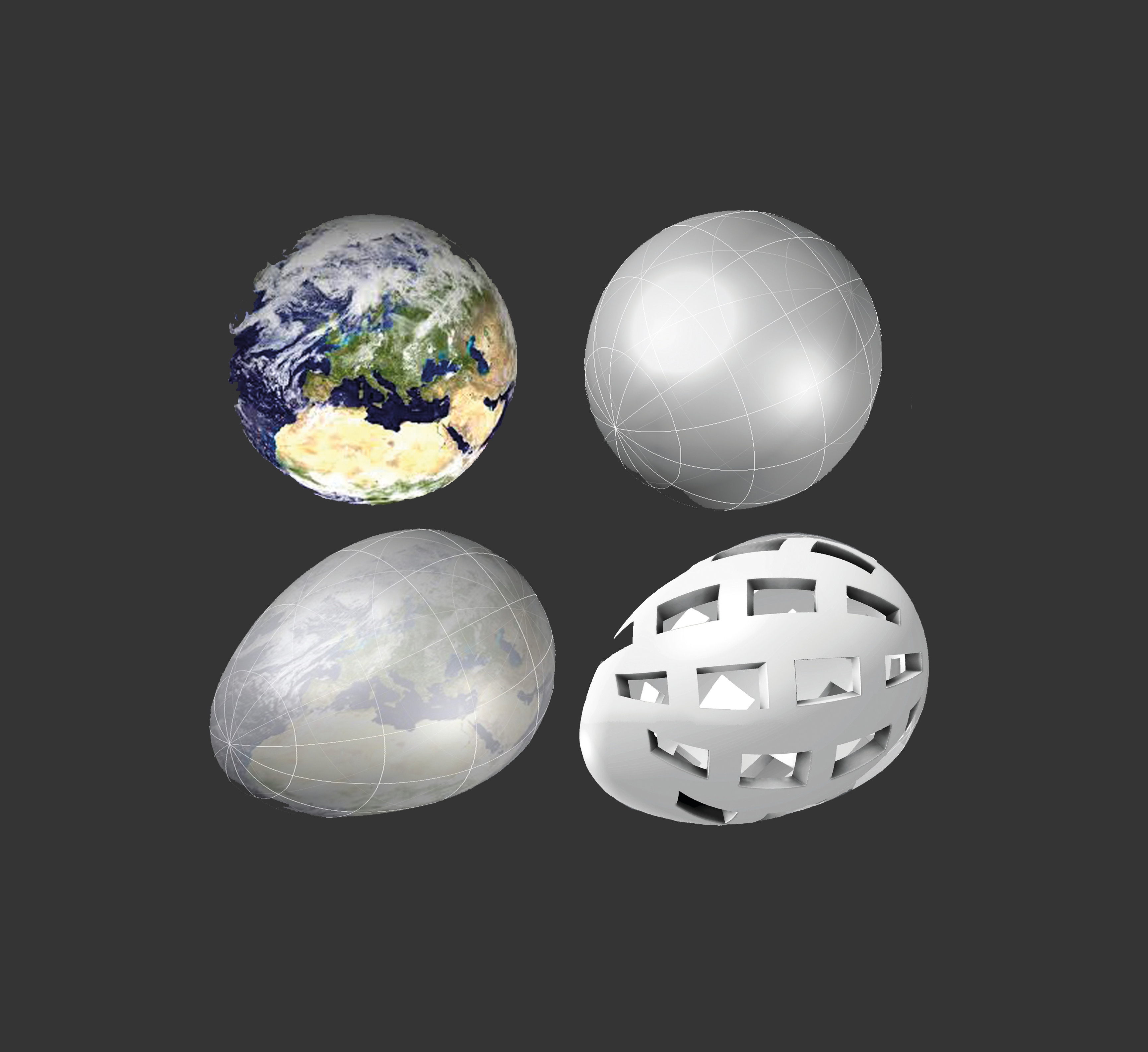 Erde- Globo Uovo1