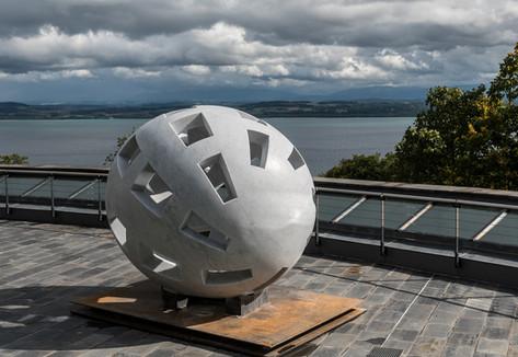 Globo Uovo im Centre Dürrenmatt Neuchâtel