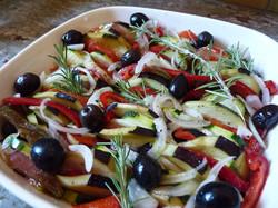 tian de légumes du soleil