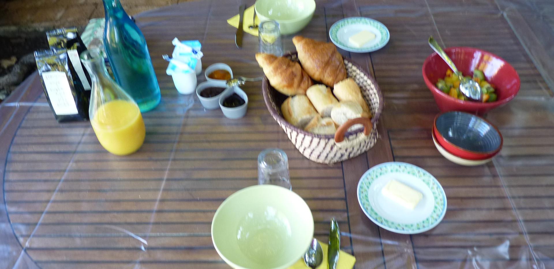 petit déjeuner gourmand
