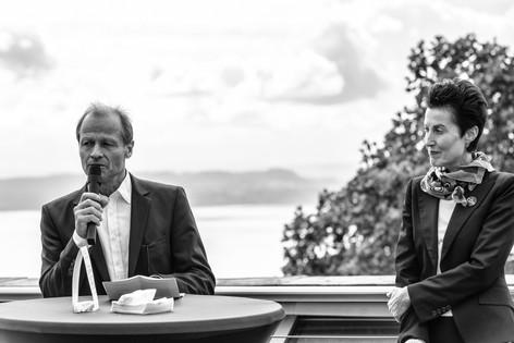Marc Reist und Madeleine Betschart