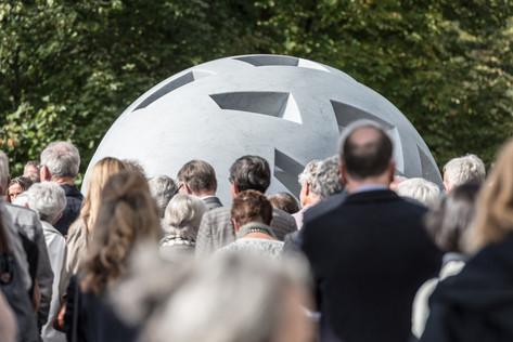 Vernissage Globo Uovo im Centre Dürrenmatt Neuchâtel