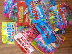 sachets de bonbons