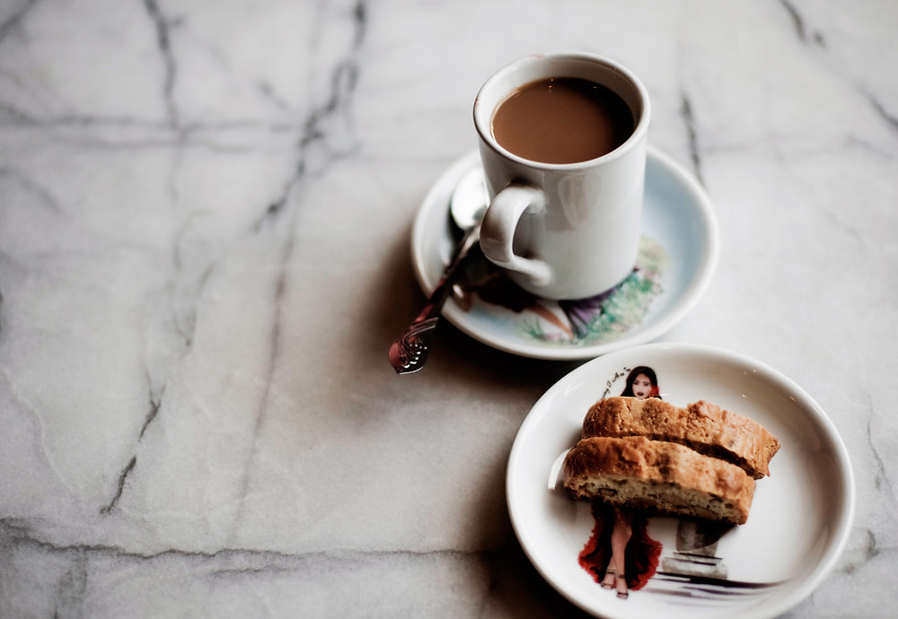 Coffee and biscotti