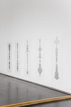 Fearful Symmetry 2008 detail of installation Kunstnernes Hus