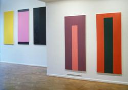 22 Paintings 0-IV 192x82cm each - oil paint on canvas