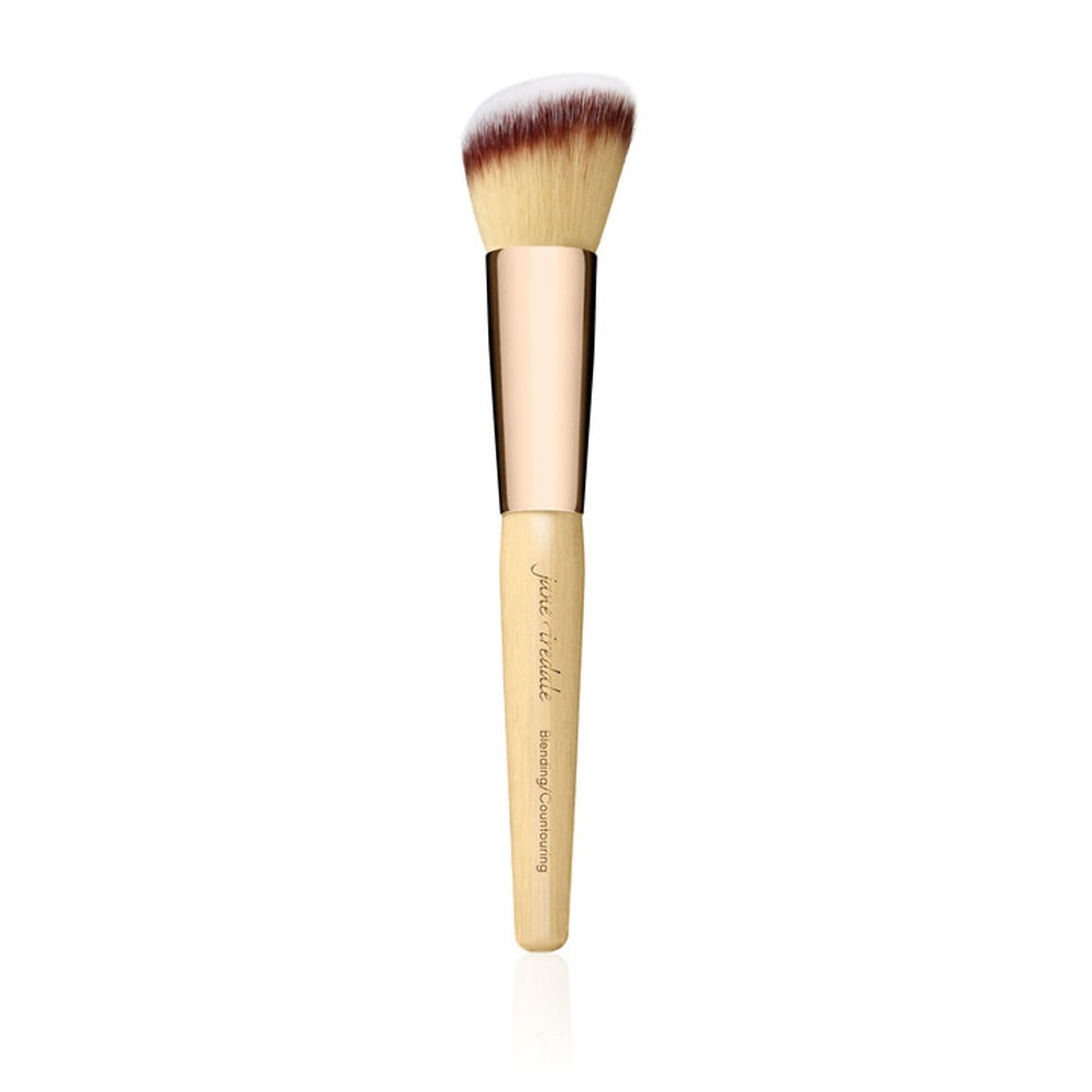 Makeup brush for blush, contouring, blending, vegan