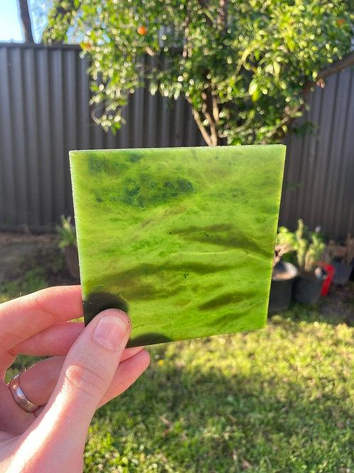 Slab - Canadian Nephrite Jade