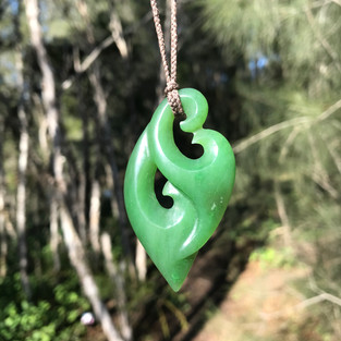Double koru (Canadian jade)