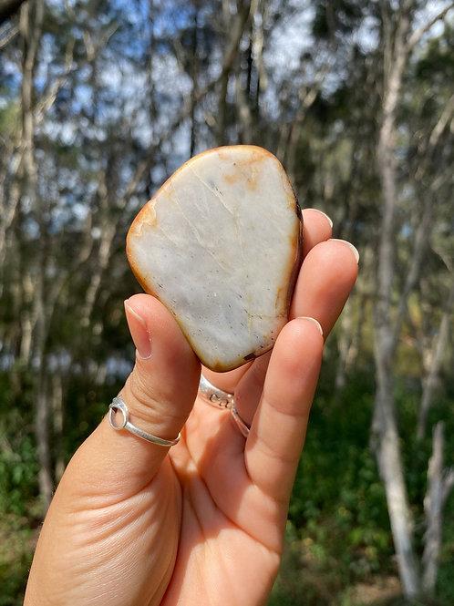 Raw / Chunk Siberian White Nephrite Jade