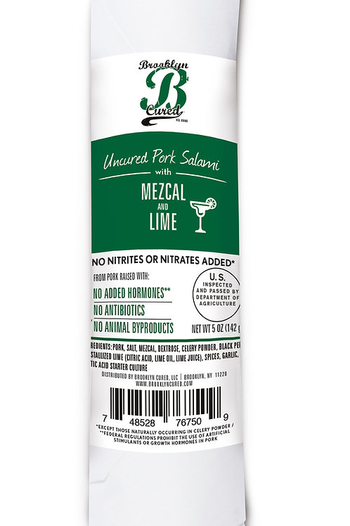 Pork Salami with Mezcal and Lime, 5 oz. (Pack of 3)