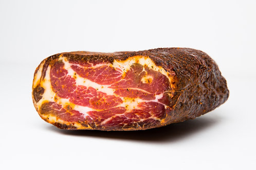 Smoked Coppa with Tasso Spice, ~1.25 lb.