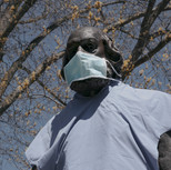 Masked Statue
