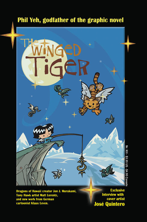 Winged Tiger  #13: Almost Famous