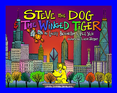 Steve the Dog and the Winged Tiger
