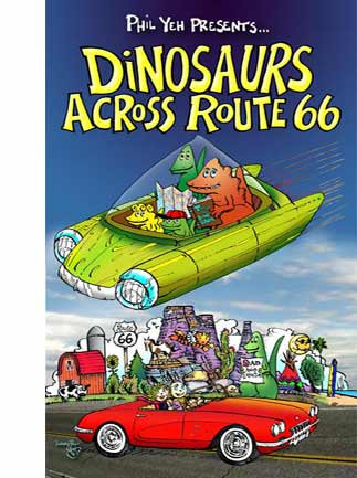 Dinosaurs Across Route 66