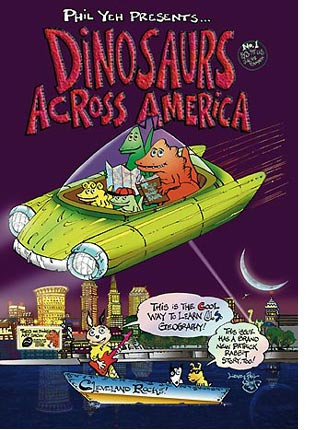 Dinosaurs Across America - The Cleveland Issue