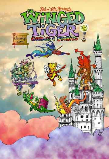 Winged Tiger # 5: The Sound of Music