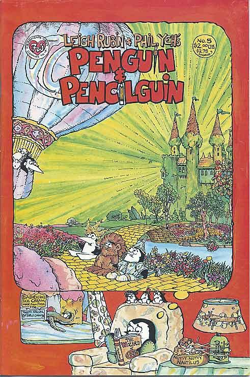 Penguin and Pencilguin #5 (1988)