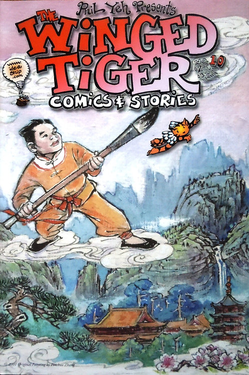Winged Tiger  #10: Crouching Winged Tiger, Hidden Dragons of Hawaii