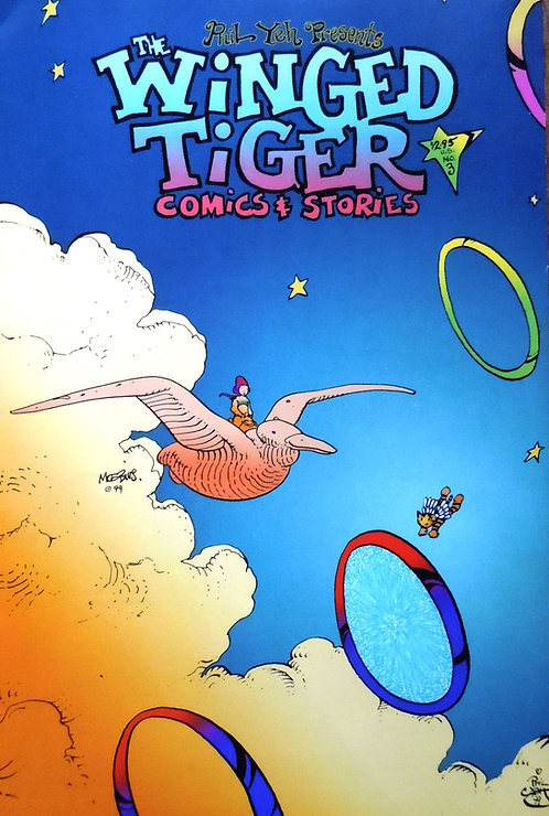 Winged Tiger  #3: Confused in Space