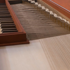 Anonymous fretted clavichord based on an original from the end of the 18th century, Portugal