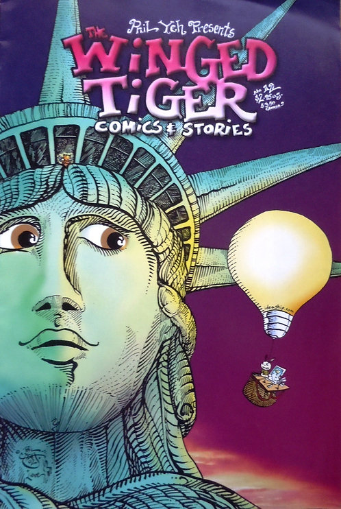 Winged Tiger # 12: Here Comes The Sun