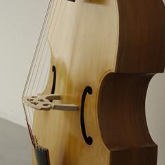 7 string Bass Viola da Gamba, based on an original french model