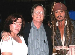 Serena &TimPowers and JohnnyDepp