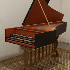 Double manual Harpsichord, Ioannes Couchet, 1652