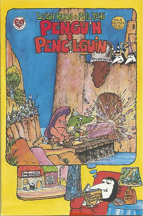 Penguin and Pencilguin #3 (1987)