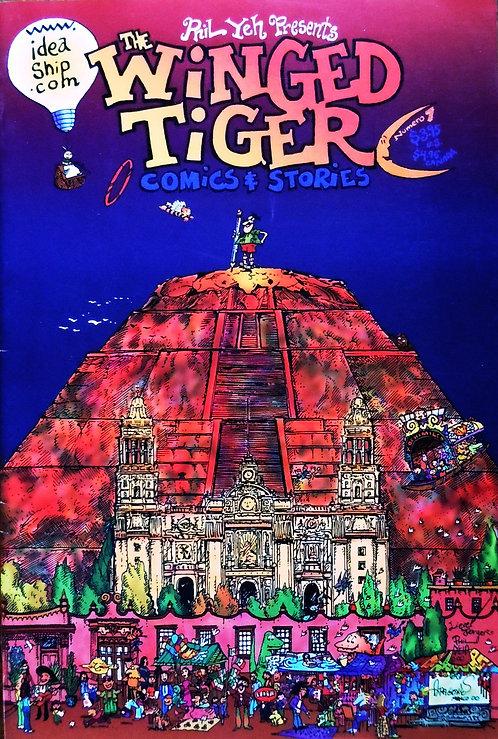 Winged Tiger #7: Keiko's Dream